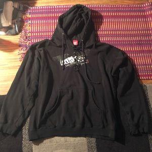 Women's size Large Burton hoodie